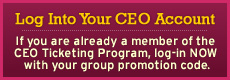 CEO Program Log-in
