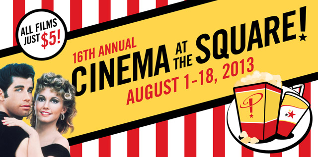 16th Annual Cinema at the Square