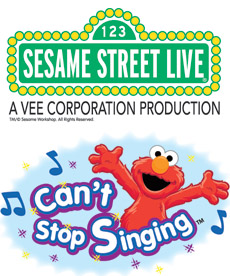 Sesame Street Live: Can't Stop Singing