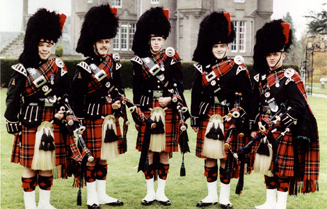 The Black Watch and the Band of the Scots Guards