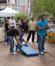 PlayhouseSquare District Cornhole Tournament