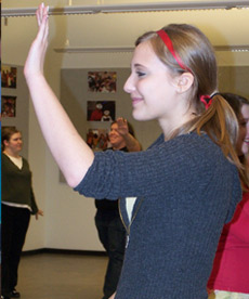 Discovering the Performing Arts for Middle School Students: Feb. 2014